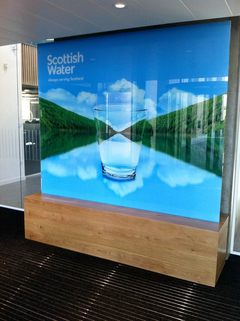 Scottish Water Sign