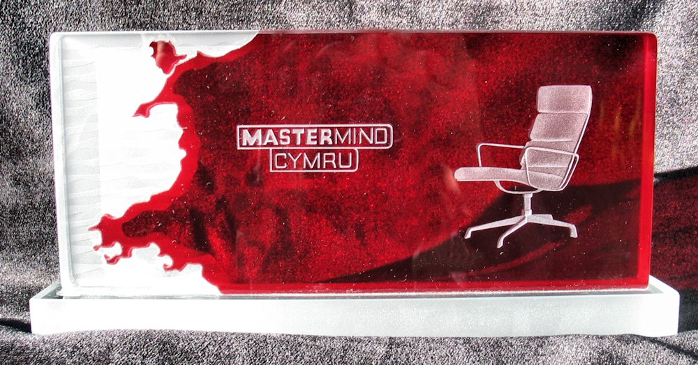 Mastermind Wales Trophy Spectraglass